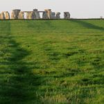 The avenue at Stonehenge