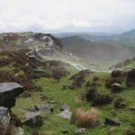 Te naked hiker on Big Moor
